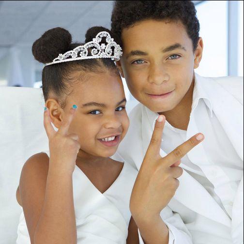 Blue Ivy Julez (Daniel Smith Jr.) Knowles Lawson Wedding