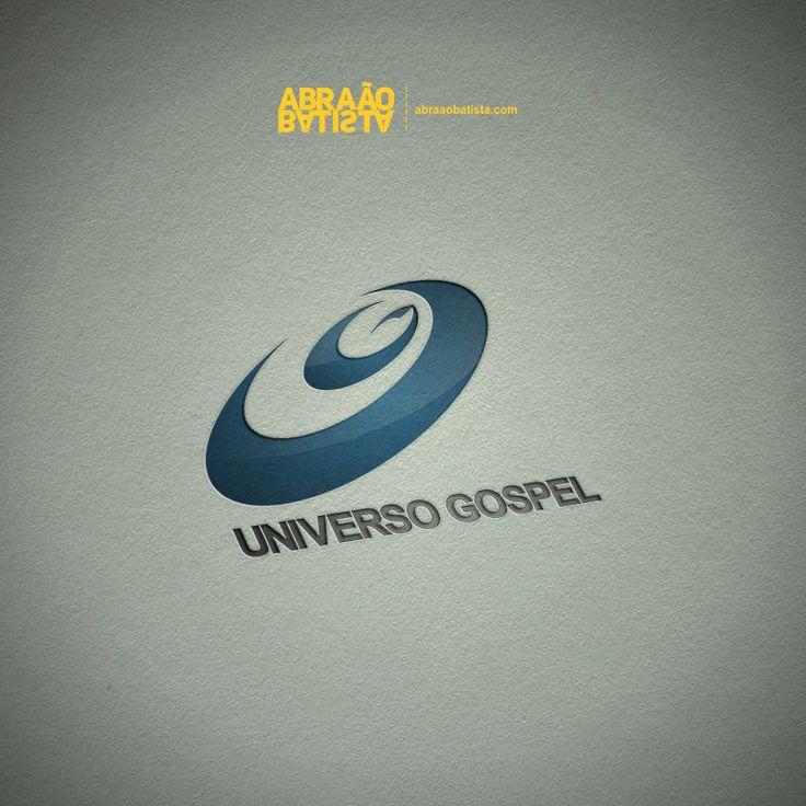 Nome: Universo Gospel; Ramo: Notícias e Entretenimento Gospel; Serviço: Logotipo; Boa Vista, RR.