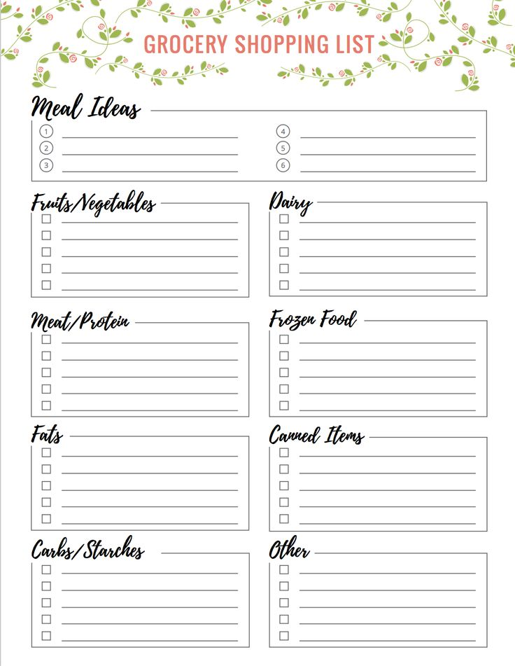 Best 25+ Grocery shopping lists ideas on Pinterest Large curd - food shopping list template