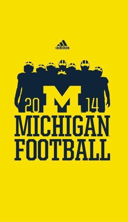 2014 University of Michigan Football season T-shirt graphic