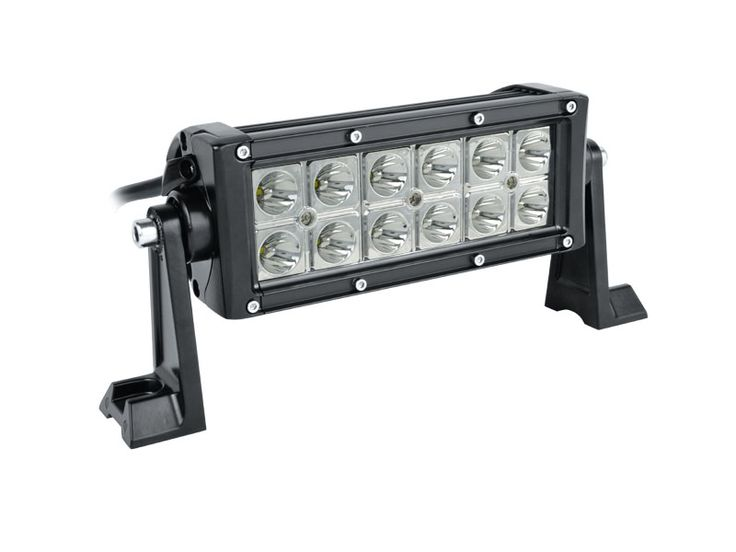 Double row cree led light bars 14 pinterest off road double row cree 7 inch led light bar for utv atv suv jeep truck mozeypictures Images