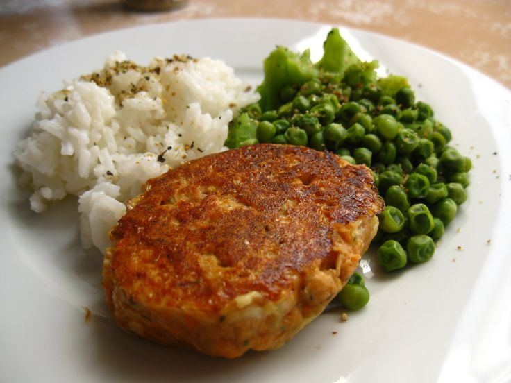 Dill pickle salmon patties! Gluten free. Using canned salmon makes these cost effective and they pack a nutrition punch!