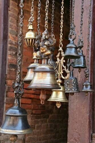 Tinkling of #bells forms the sound of calling for #peace and tranquilty in any home.