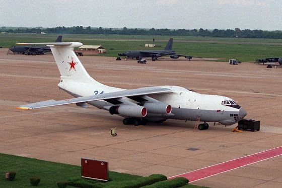 Latvian fighter jets take off to intercept Russian flying tanker Il-78