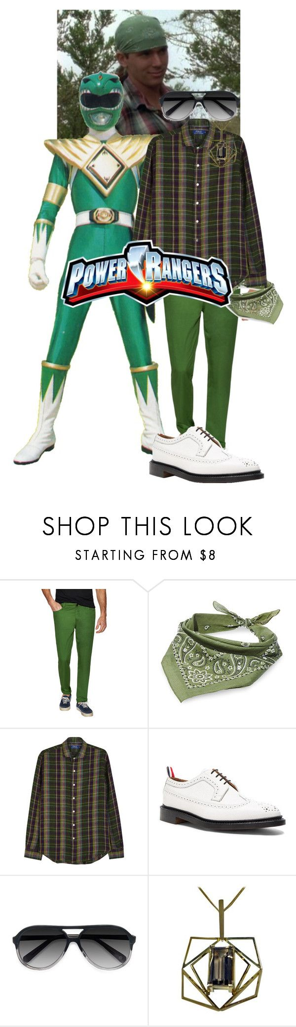"""""""Tom Oliver"""" by minicared ❤ liked on Polyvore featuring ZAK, Steve Madden, Polo Ralph Lauren, Thom Browne, Ace, men's fashion and menswear"""