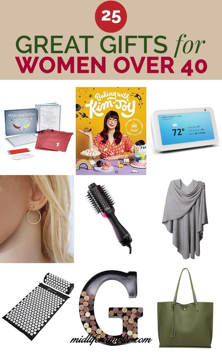 25 Great Christmas Gifts For Women Over 40 Awesome Over 50