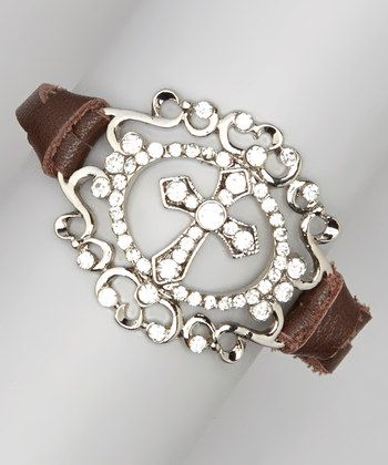 Turquoise & Silver Brown Daisy Bracelet | Daily deals for moms, babies and kids