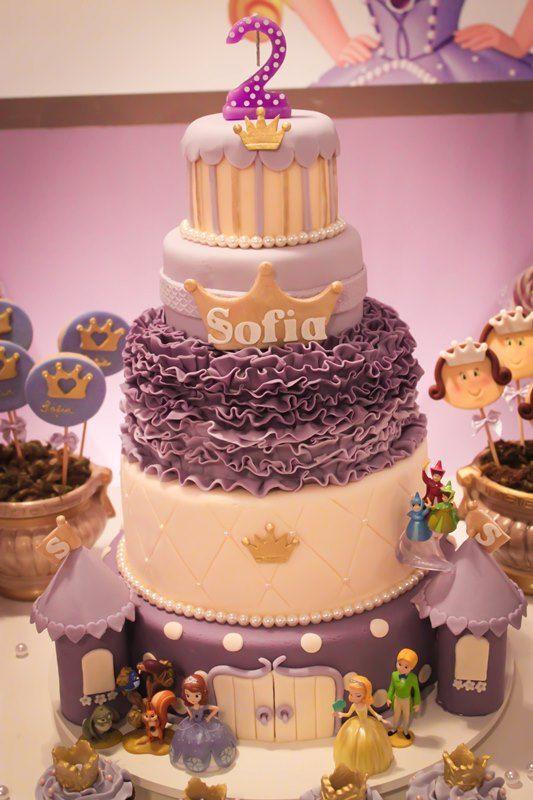 Festa Princesa - Sofia - 02 anos - Inesquecível Festa Infantil