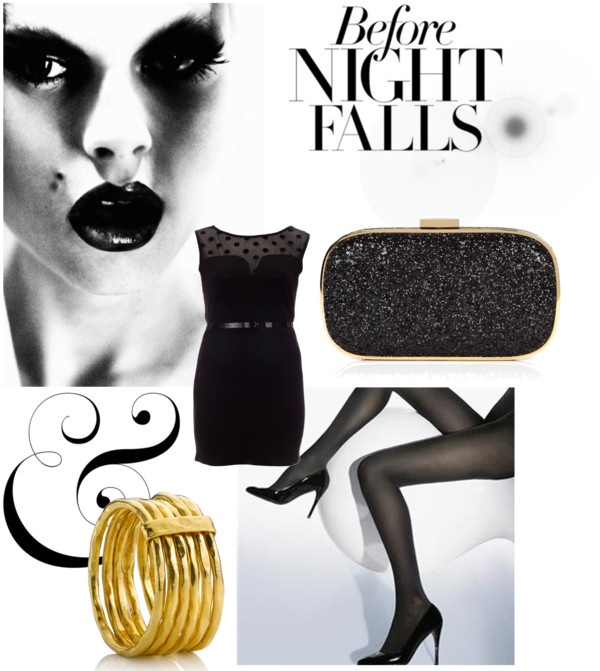 Before night falls, created by vschuuring on Polyvore
