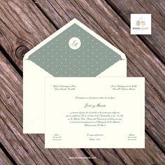 En Bodas Nazaret ofrecemos Invitaciones de Boda, con sobres forrados y totalmente personalizados. Enviamos a toda España.