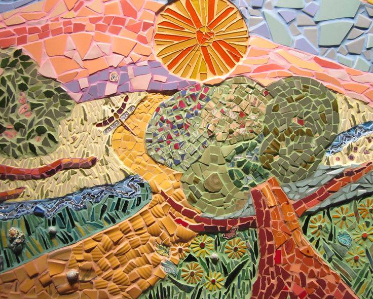 17 best images about church mosaic on pinterest school for Mosaic garden designs