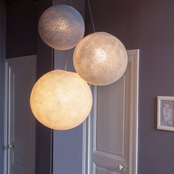 Lustre Salon Suspension Triple La Case Du Cousin Paul Luminaires