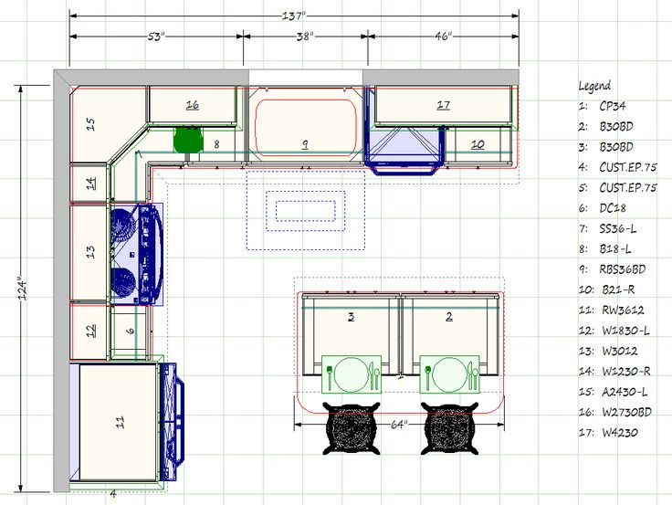 Kitchen Blueprints Floor Plan | Kitchen Gallery, 69 Lafayette Road, North  Hampton, NH