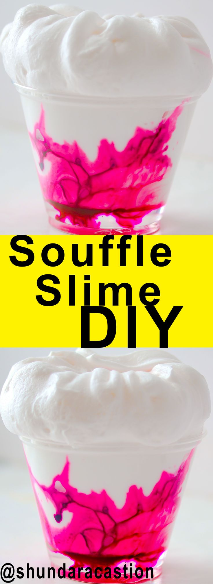 The new viral slime is alive! Make this easy DIY Slime that only requires a few simple ingrediants... Souffle Slime is the best #slime