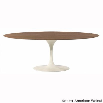 Saarinen Oval Dining Table   Two Sizes Available In A Variety Of Top  Surfaces (wood