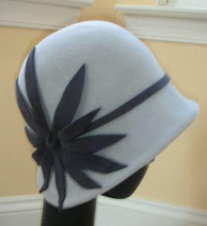 Gorgeous cloche hat!