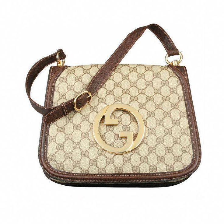 Vintage 1970S Gucci Logo Shoulder Bag #Guccihandbags   Burberry handbags. Gucci handbags outlet. Burberry bag
