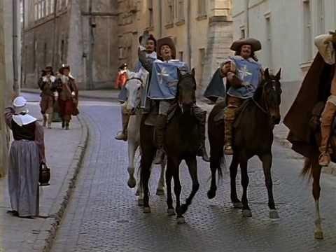 Песня мушкетеров-Три мушкетера. TRZEJ MUSZKIETEROWIE.