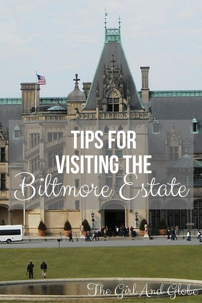 The Biltmore Estate in Asheville, NC is a great attraction. Some tips for visiting the Biltmore Estate will help you make the most of your time.