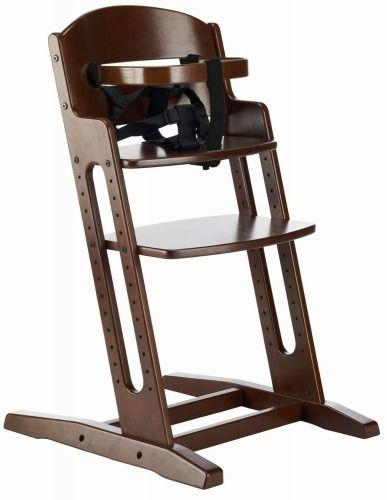 DanChair to krzesełko, które rośnie razem z dzieckiem Dla dzieci od 6 miesiąca aż do 15 lat!  Regulowana wysokość siedziska i podnóżka Wyjątkowo stabilna konstrukcja