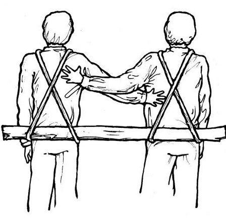 folded stretchers with straps - Αναζήτηση Google www.outdoorleaderonline.org