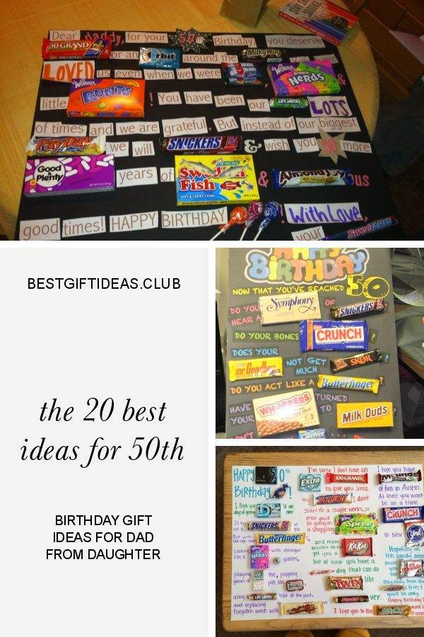 The 20 Best Ideas For 50th Birthday Gift Ideas For Dad From Daughter 50th Birthday Gifts Best 50th Birthday Gifts Dad Birthday Gift
