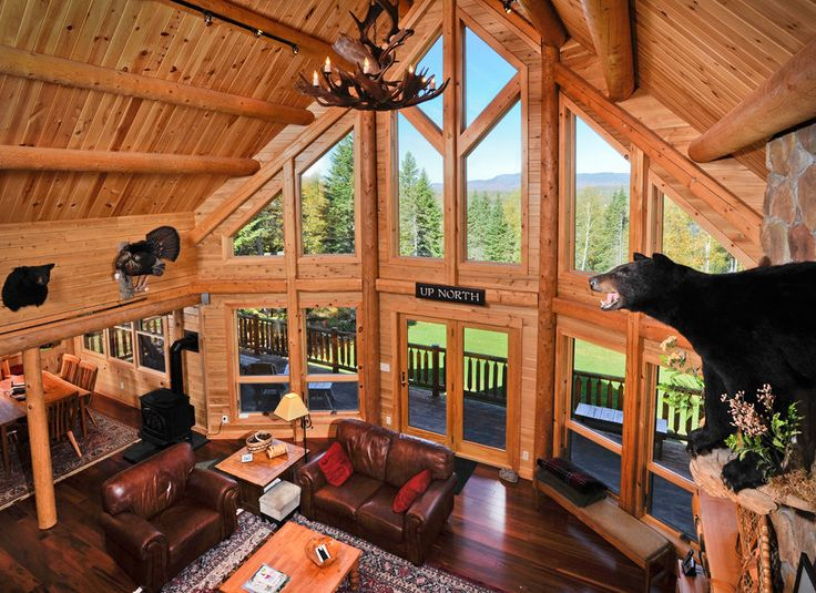 39 best images about cabin dream homes someday on for Windows for log cabins