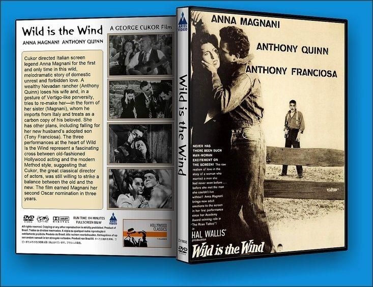 Wild is the Wind DVD Anthony Quinn Region 1