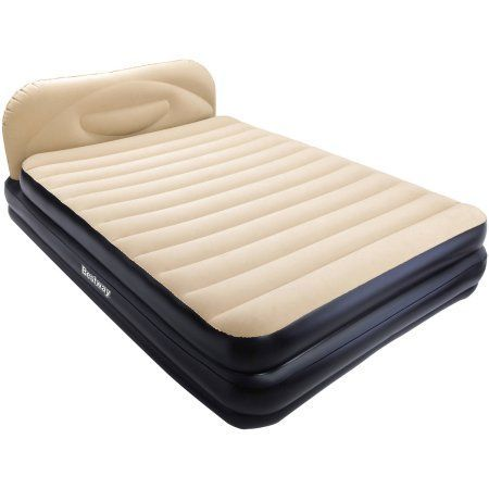 Bestway Soft-Backed Elevated Airbed, Queen, Multicolor