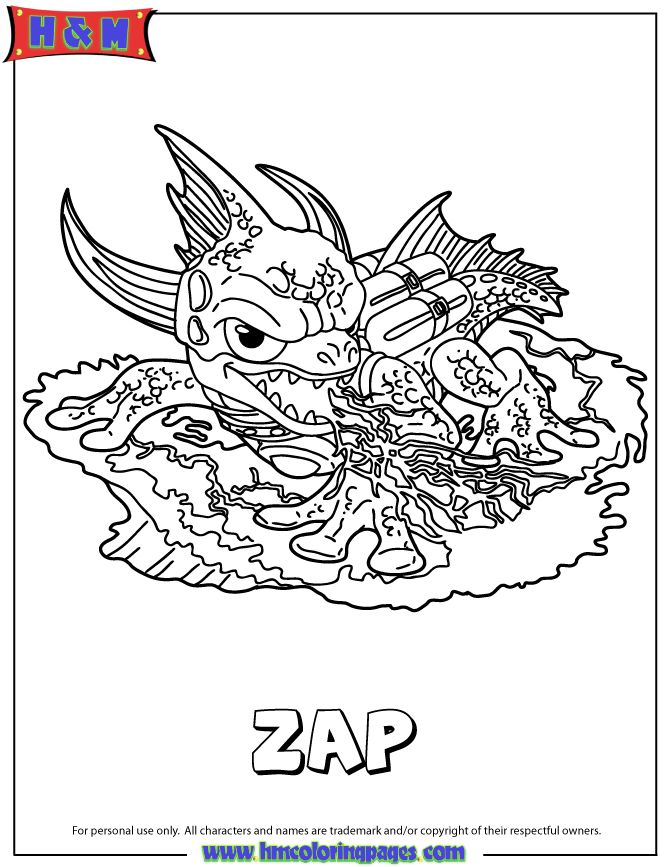 The 139 best Skylanders coloring pages images on Pinterest ...