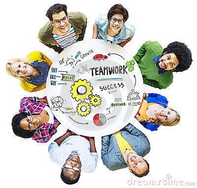 Teamwork Team Together Collaboration Meeting Looking Up Concept - Download From Over 50 Million High Quality Stock Photos, Images, Vectors. Sign up for FREE today. Image: 48570885