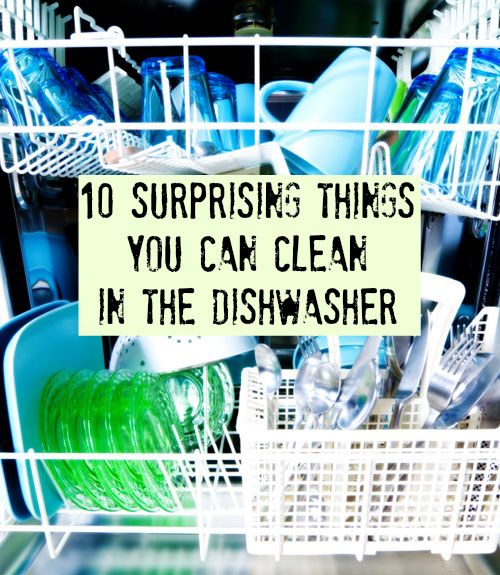 This list will make your life easier. #Cleaning #Dishwasher