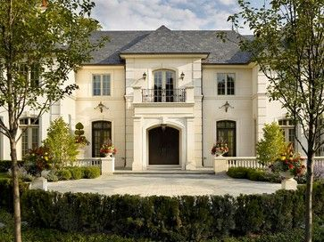 French Chateau - traditional - exterior - chicago - Michael Hershenson Architects