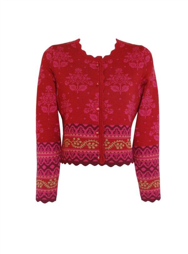 Design 167 Oleana - Solveig Hisdal - Norwegian Sweaters Cardigan Knit - www.oleana.no