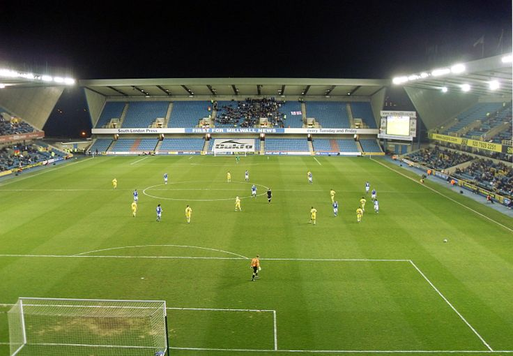 The New Den. League One, Millwall-Colchester 0-1 (31.3.2009).