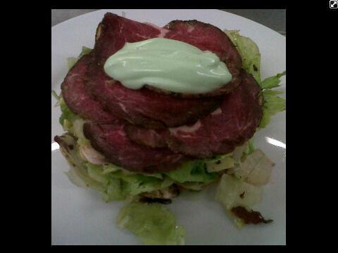 Ensalada de Roast Beef