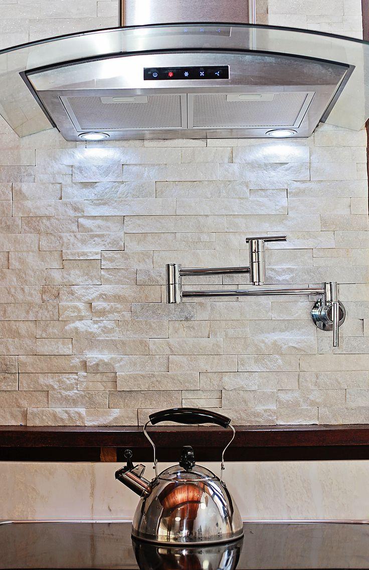 White Stone Backsplash Kitchen 39 best ktchen images on pinterest | kitchen ideas, kitchen and
