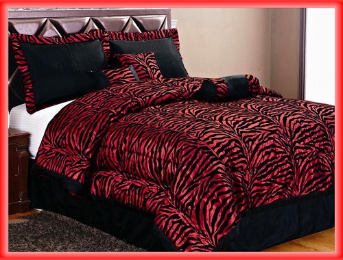 50 Best Red And Black Bedding Images On Pinterest