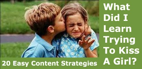 20 Easy Content Strategies    I like a strategy and I like easy stuff. Creating content can be a pain if you you have no strategy. Well... Now you have no more excuses with the 20 great content ideas from +Copyblogger    The first strategy is:    1) Embarrassing stories: Think back to moments of your life when you were really embarrassed. Use that situation to craft a post relating to your niche—there's a good...