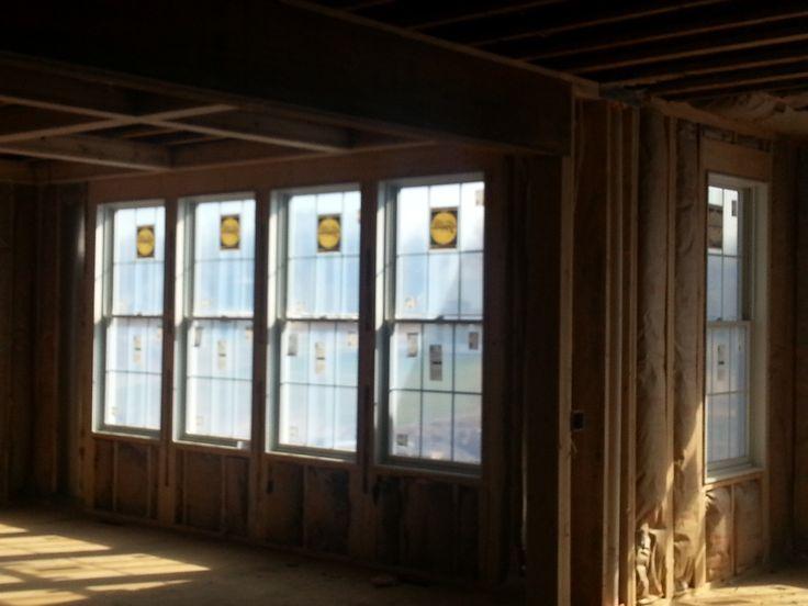 Pella proline series double hungs with grilles pella for Pella casement window screens