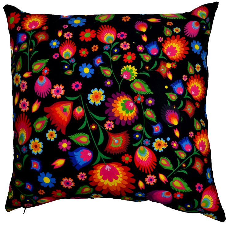 Designer decorative Folk pillow № gd415