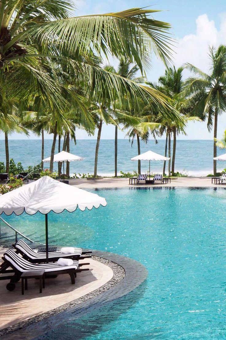 Cool off in the free-form infinity pool. Taj by Vivanta (Bentota, Sri Lanka) - Jetsetter