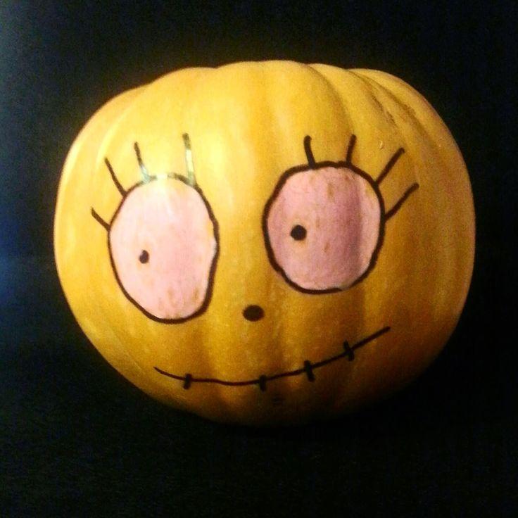 pintando calabazas por Halloween... | DibujosdeNube
