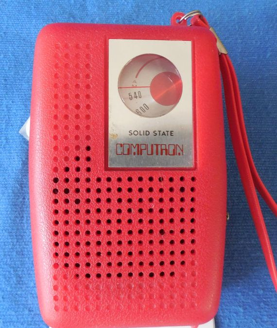 Computron 6 transistor AM radio