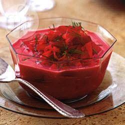 Foto recept: Zomerse borsjt
