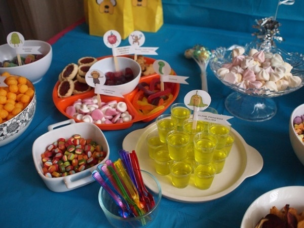 Adventure Time Party Food-  Bray's welcome back party