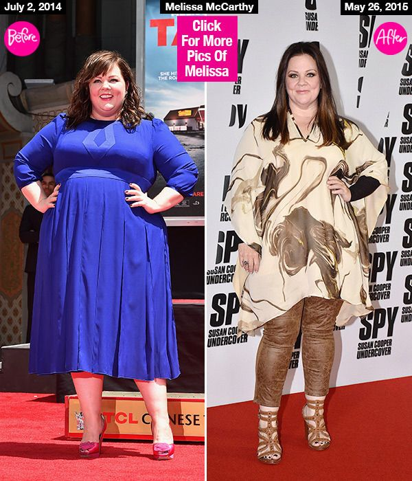 Melissa McCarthy Drops Over 50 Lbs, Looks Glam In 'Spy' Red CarpetPics