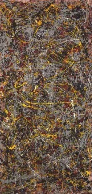 Jackson Pollock no 5 1948 140 millions dollars