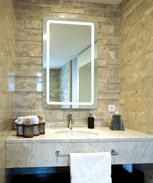 Excellent Led Lighted Bathroom Mirrors Smart Mirrors Tv Mirrors Download Free Architecture Designs Scobabritishbridgeorg