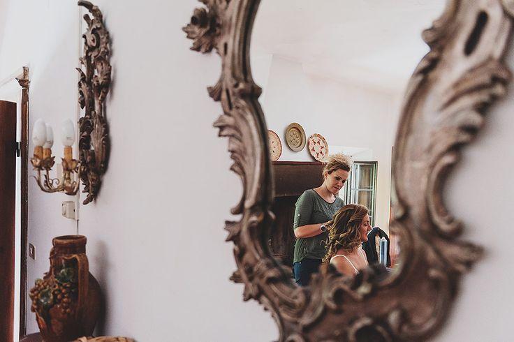 bridal hair #wedinflorence  #destinationweddings #tuscany @Wed in Florence @sebastiandavidbonacchi http://wedinflorence.com/